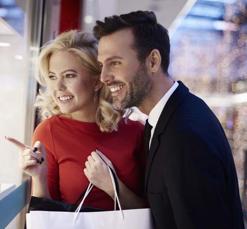 Ist er ein Shoppingfreak, lässt er sich gern erobern