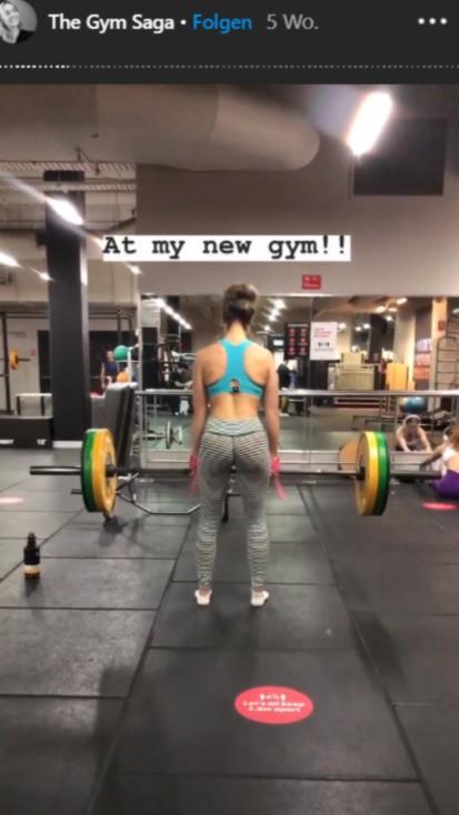 Die Fitness-Bloggerin Gabi, die sich nach dem Vorfall ein neues Fitnessstudio gesucht hat