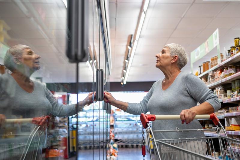 Die Kühlkette sollte nach dem Einkaufen eingehalten werden.