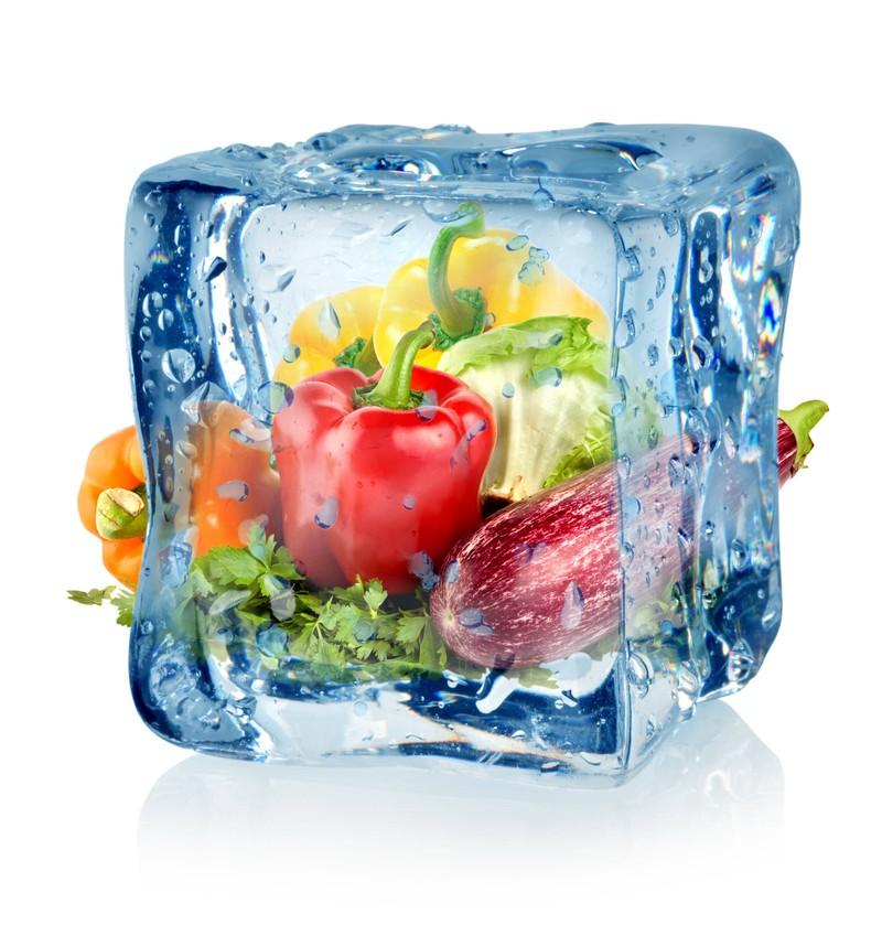 Tiefgefrorenes Gemüse hat mehr Vitamine als frisches Gemüse