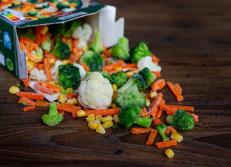 Viele denken, dass frisches Gemüse gesünder ist, als Tiefkühlgemüse.