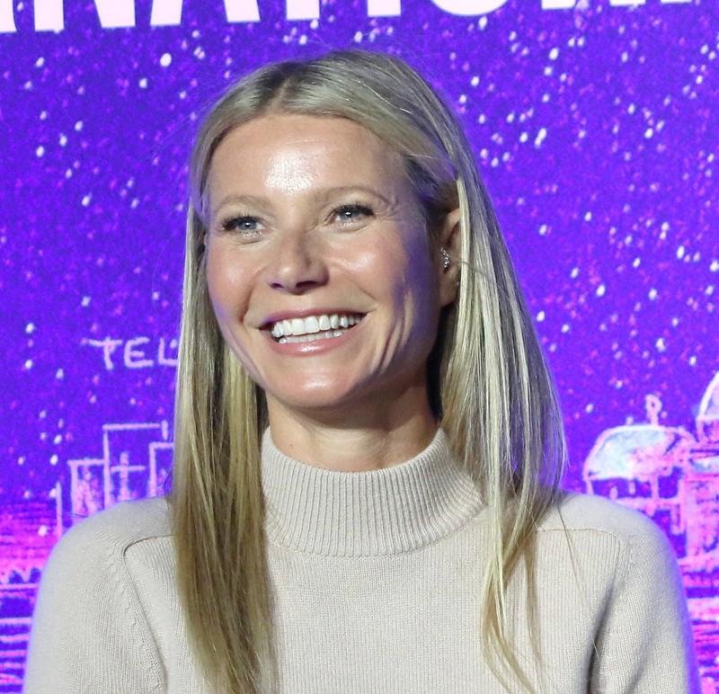 Schauspielerin Gwyneth Paltrow, die ihre Körperhygiene vernachlässigt