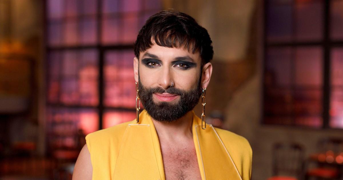 Natürlich: Conchita Wurst alias Tom Neuwirth zeigt sich ohne Make-up