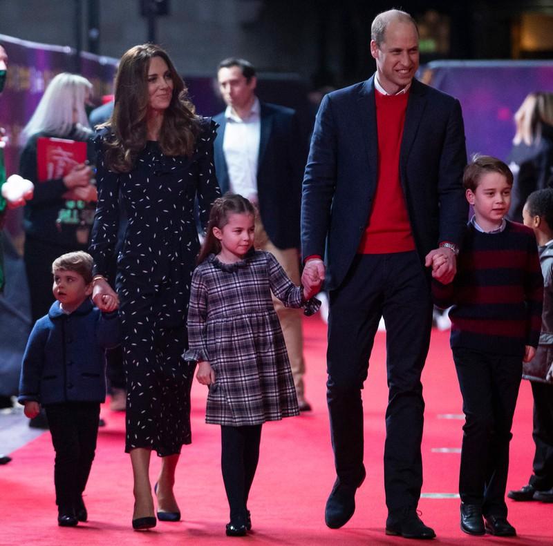 William erzählt seinen Kindern viel von Oma Diana