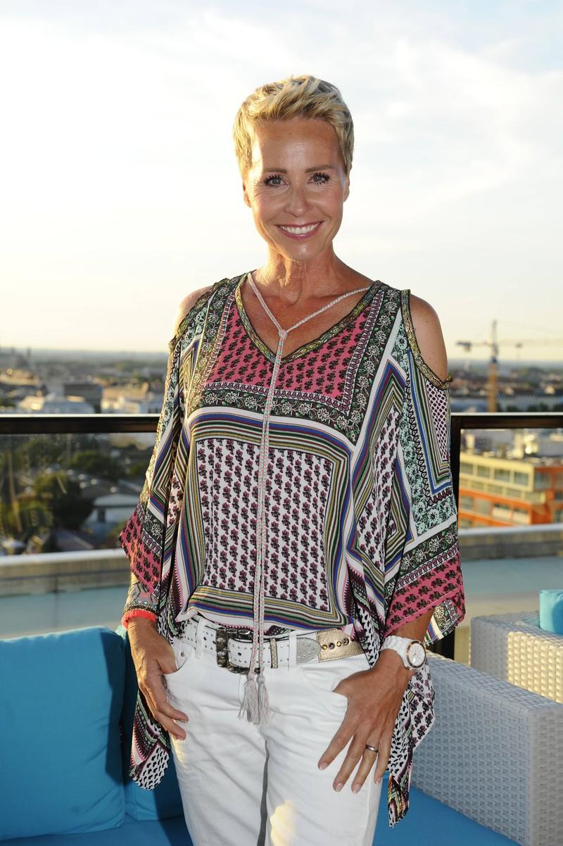 Die Moderatorin Sonja Zietlow, die ganz offen zu ihren Beauty-Eingriffen steht