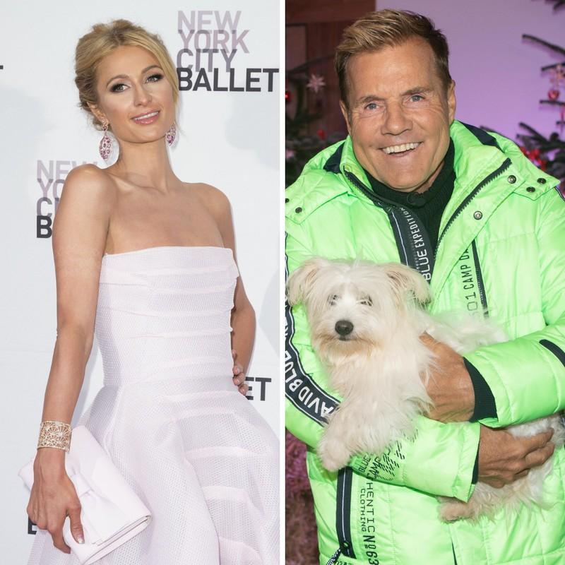 Dieter Bohlen und Paris Hilton sind Promis mit dem Sternzeichen Wassermann.