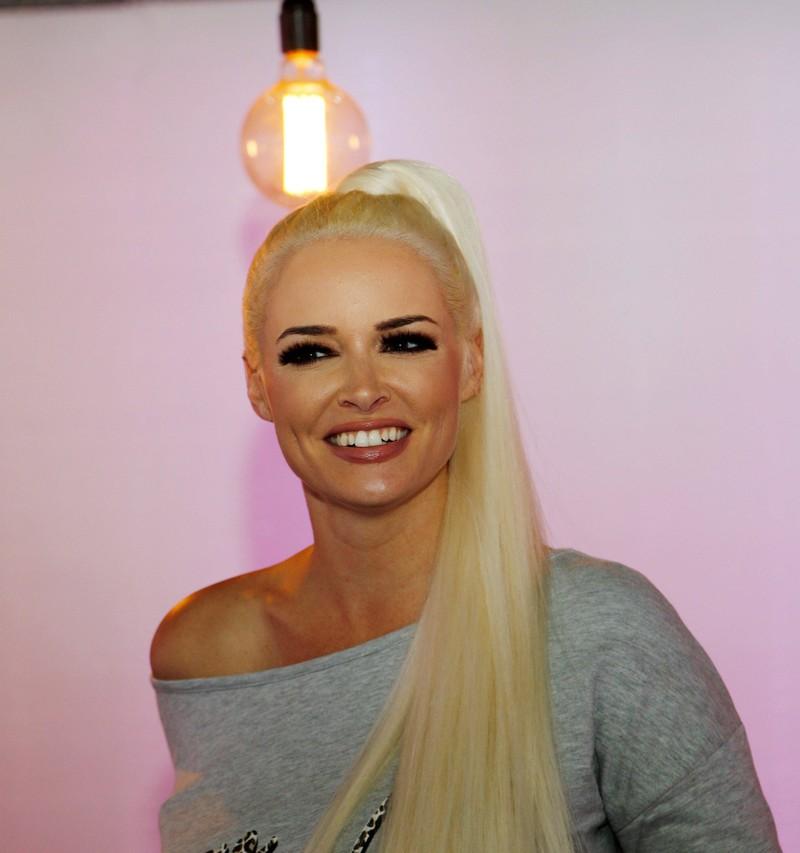 Daniela Katzenberger wurde als Blondine berühmt.