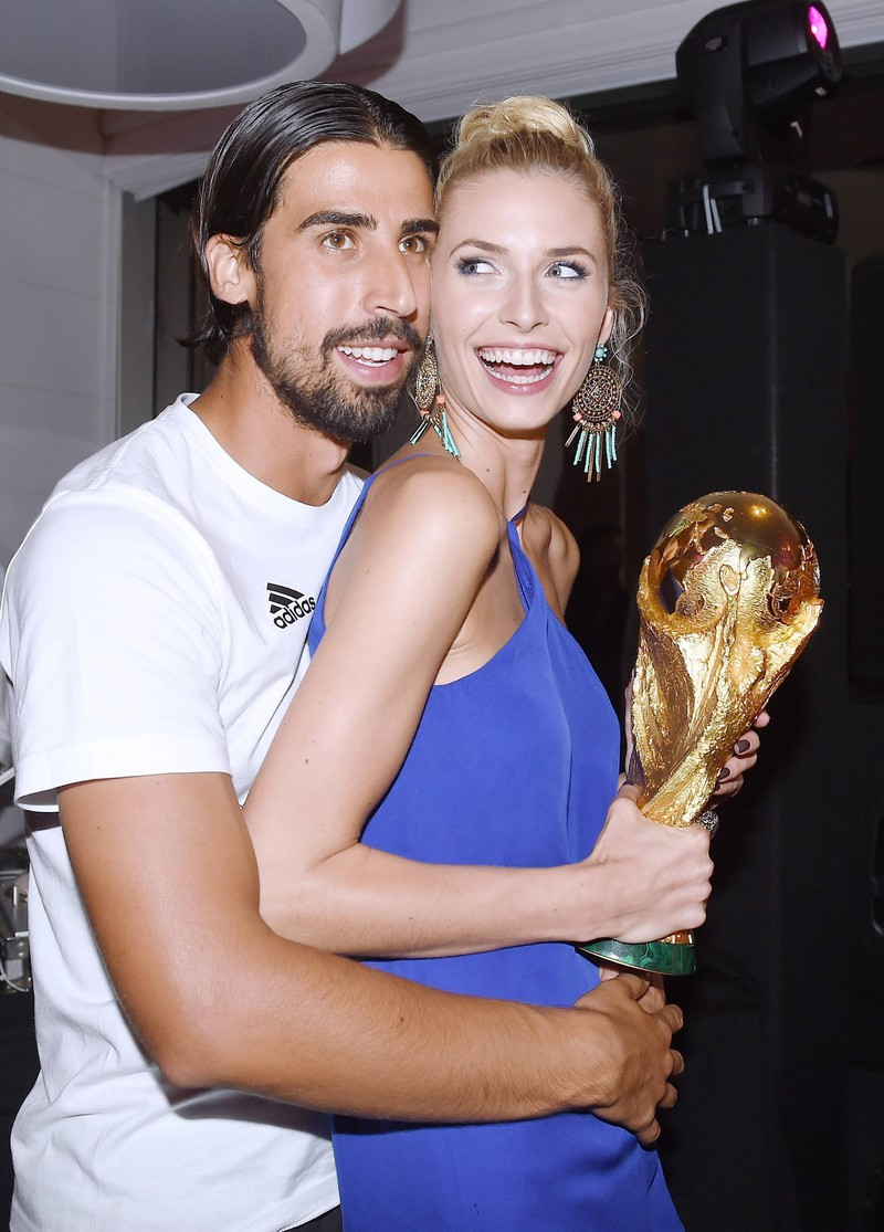 Sami Khedira und Lena Gercke waren von 2011 bis 2015 ein Liebespaar. Jetzt sind sie nicht mehr zusammen