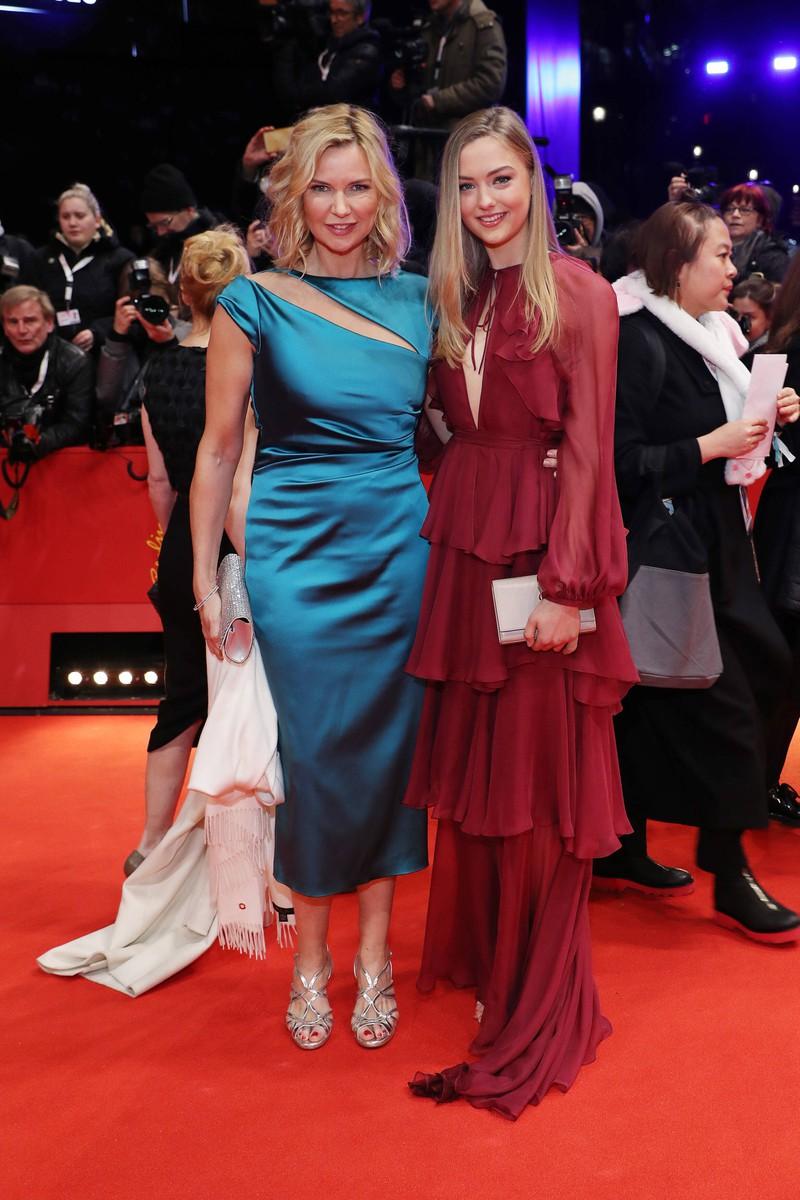 Veronica Ferres zusammen mit ihrer Tochter Lilly Krug, die auch Schauspielerin werden will